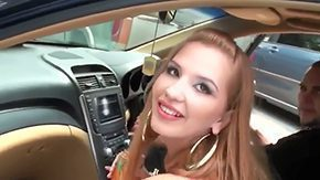 Free Nicole Marie HD porn Jmac meets sexy really sexy blonde babe Nicole Marie bounded by approachable picks her up with his car