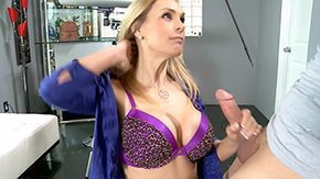 Friend Mother, Aunt, Best Friend, Big Tits, Blonde, Blowjob