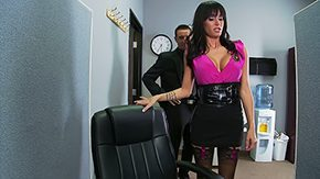 HD Spying Sex Tube Steamy Gia is a corporate spy brownish hair big boobs mom tanned getting laid at work office hosiery tiny in size fully dressed anal lingerie flirty