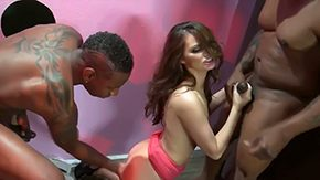 Lilly Carter HD porn tube Lilly Carter enjoys being deep fucked by two horny black males with weighty cocks