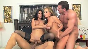 Nikki Daniels, 3some, 4some, American, Babe, Blowjob
