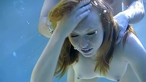 HD Underwater tube Underwater sex for some quick money redhead pool