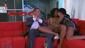 Misty Stone, Ball Licking, Bed, Bitch, Blowjob, Deepthroat
