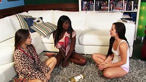Lola Foxx, 3some, Babe, Bend Over, Close Up, Doggystyle