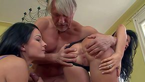 Senior, 3some, 4some, Aged, Ass, Ass Licking