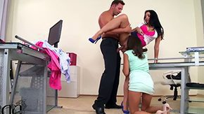 Kira Queen, 3some, Boss, Group, High Definition, Office