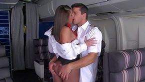 Stewardess, Ass, Ass Licking, Babe, Big Ass, Big Tits