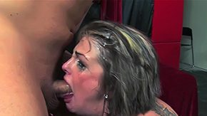 Tears, Amateur, Aunt, Blowjob, Choking, Crying
