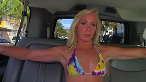 Green Eyes, Amateur, Backseat, Banging, Bikini, Blonde
