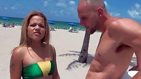Cynthia Lopez, Amateur, Ass, Beach, Big Ass, Big Cock