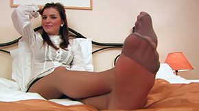 Nylon Feet, Feet, High Definition, Nylon, POV