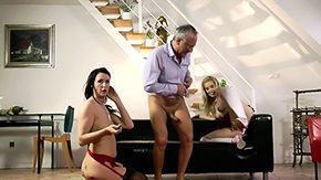 Father in Law, Aged, Amateur, Aunt, Babe, Blonde