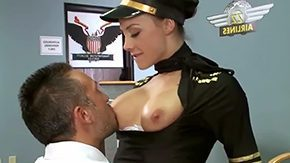 Stewardess, Adorable, Beauty, Big Pussy, Big Tits, Boobs