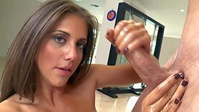 Jerk Of, Banging, Brunette, Double, Group, Handjob