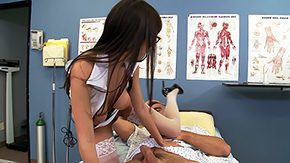 Brazzers, Blowjob, Boots, Brunette, Clinic, Clothed