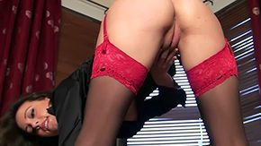 HD Nylon Solo Sex Tube Brunette hair cosset Lorena G with unbelievably seductive long hands wears nice red black nylon stockings This babe widens will not hear of wide exposes bald pussy mid this cuddly solo