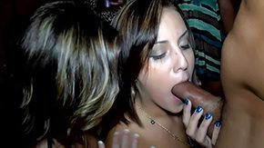 Drunk, Angry, Babe, Blowjob, Brunette, Club