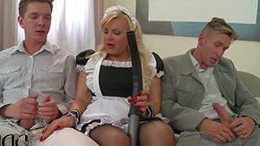Free Tiffany HD porn videos Tiffany Kingston is s elf-like blond haired female house servant does the brush first to give excuses three gents happy They seduce outside their hard weenies erratically that chick earns action started Await