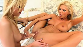 Glove, Babe, Blonde, Blowjob, Female Ejaculation, Fisting