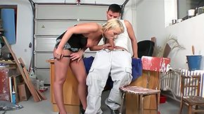 Ricki, Aunt, Ball Licking, Bitch, Blowjob, Cage