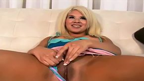 Lana Croft, Babe, Blonde, Boobs, Dominatrix, Face Fucked