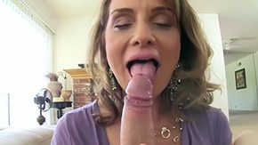 Rebecca, Blowjob, Cougar, Cum Drinking, Cum Swallowing, High Definition