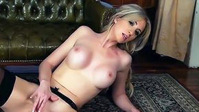 HD Perri Doran tube Perri Doran glamour mid stockings is demonstrating cool parts of body from kinky sags before starting to