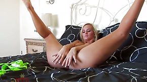 Emily Austin, Big Pussy, Blonde, Cunt, Dildo, Fingering