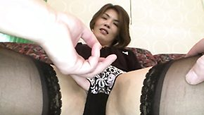 Japanese Mature, Asian, Asian Granny, Asian Mature, Fingering, Japanese