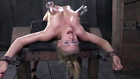 Oiled, BDSM, Blonde, Fucking, Oil, Teen