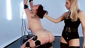 Electro, Ass, BDSM, Big Ass, Blonde, Bound