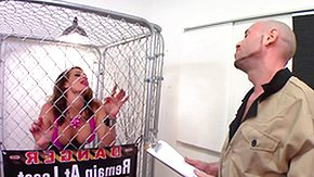 Cage, Babe, Blowjob, Boots, Cage, Choking