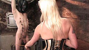 Lorelei Lee, Ball Kicking, Ballbusting, BDSM, Blonde, Dominatrix