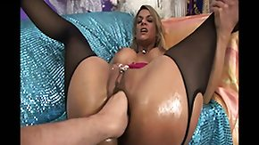 Fisting Pussy, Big Pussy, Bitch, Blonde, Blowjob, Boots