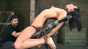 Nipple Clamp, BDSM, Bondage, Boobs, Bound, Brunette