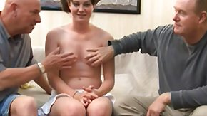 Dad and Girl, 3some, Angry, Boobs, Cash, Dad and Girl