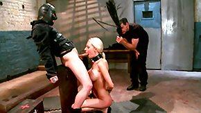 Slave, Babe, BDSM, Blonde, Blowjob, Fucking