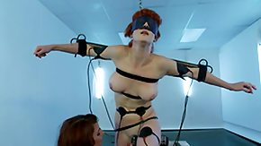 Dutch, BDSM, Blindfolded, Brunette, Crying, Dutch