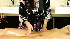 Massage, Babe, Brunette, High Definition, Massage, Masseuse