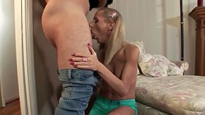 Free Juliette Stray HD porn Jay Huntington with muscled body stiff as a board boner receives amorous blowjob session from hot blodne trannie Juliette Stray with fatter boobs as this chick kneels mid