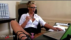 Italian, Blonde, Blowjob, Caught, Fucking, Glasses