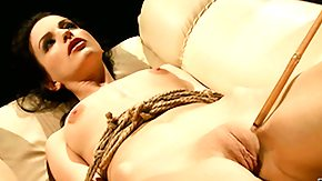 Bondage, BDSM, Blowjob, Bondage, Bound, Brunette