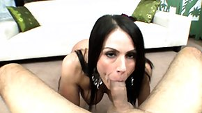 On Her Knees, Blowjob, Brunette, Cumshot, Fetish, Handjob