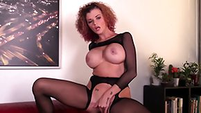 Joslyn James, Big Tits, Bodystocking, Boobs, Cumshot, Masturbation