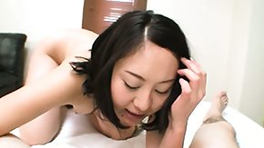 Risa HD porn tube Risa has her lips all over his stiff knob in the time of a vibrator works its magic on her clit