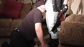 Leather Boots, BBW, BDSM, Boots, Chubby, Chunky