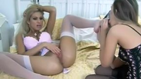 Free Vintage Lesbians HD porn Long legged lesbians in vintage underwear Feet fetish lesbian stockings heels ight golden-haired bitch legs long-legged leggy touch with a tongue cunt closeup reverse facesitting fake penis