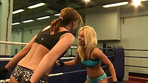 Girl Fight, 3some, Babe, Bitch, Blonde, Brunette