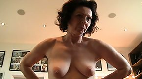 Hairy Mature, Amateur, Blowjob, Boobs, Brunette, Bush