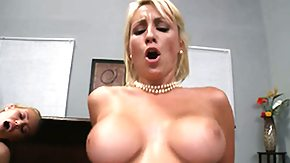 Moaning, Big Tits, Blonde, Boobs, Cum, Fucking